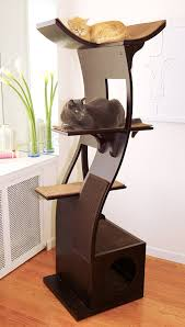 cool cat tree furniture. Cool Cat Accessories ♥ Trees Without Carpet To Suit Your Modern Or Minimalist Home Decor. Beautiful Furniture. Lotus Tower. Tree Furniture Pinterest