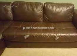 Furniture is peeling at a rapid rate and Furniture Row considers