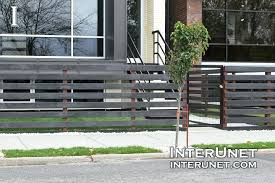 horizontal wood and metal fence a framed corrugated plans sheet but do instead of hog landscaping