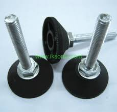 rubber leveler feet furniture adjule feet bolt foot pad machine furniture foot rubber plastic pad with