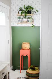 Decorating With Green How To Start Decorating Your House Diy Shelf Tutorial