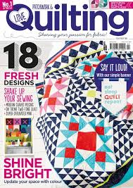 273 best Love Patchwork & Quilting magazine images on Pinterest ... & Treat yourself to your favourite quilting magazine & get your copies half  price! We' Adamdwight.com