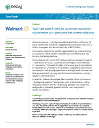 Walmart Neo4j Graph Database Platform