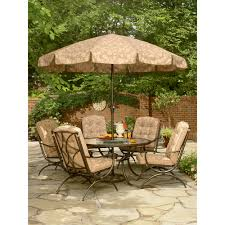 Jaclyn Smith Dining Room Furniture Addison Patio Dining Table With Lazy Susan Improve Your Patio Kmart