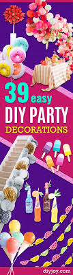 Diy Birthday Decorations Best 25 Cheap Party Decorations Ideas On Pinterest Cheap Party