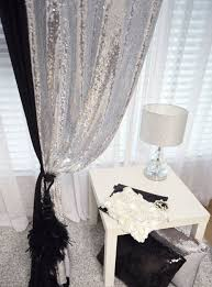 handmade silver sequins beaded curtain dry panel room divider made to order handmade