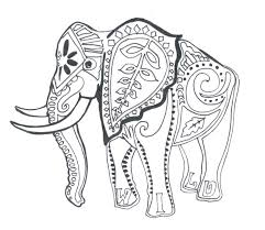 Indian Elephant Coloring Pages Printable Best Of Free Pdf Book
