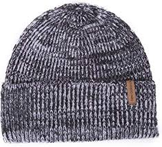 New Balance Men's <b>Oversized Cuff Watchman's Beanie</b>, Black, One ...
