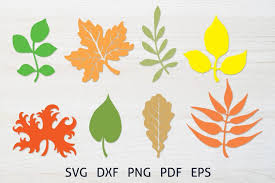 Download 58 vector icons and icon kits.available in png, ico or icns icons for mac for free use. Fall Leaves Cutting Svg Bundle Autumn Leaves Clipart 925889 Cut Files Design Bundles
