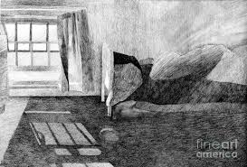 Attic drawing Attic Room Bedroom Drawing Painting In The Attic Original Pencil Drawing By Elizabetha Fox Pixels In The Attic Original Pencil Drawing Painting By Elizabetha Fox