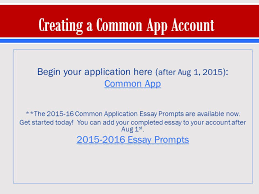 Common Application Essay 2015 16 College Essay Guy Common App Stscholasticahsc Com