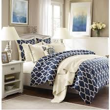 navy comforters sets blue lattice comforter set sky iris 14