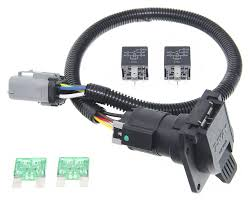 ford replacement oem tow package wiring harness 7 way super duty ford replacement oem tow package wiring harness 7 way super duty tow ready custom fit vehicle wiring 118243