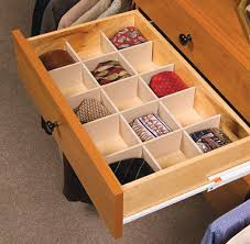 The October Company : 1-800-628-9346 : Closet Accessories : Drawer Dividers