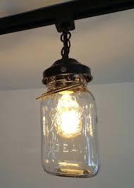 mason jar track lighting. Jar Light Vintage Mason Track Trio Lights Lighting . F