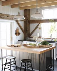 vintage kitchen lighting. using vintage warehouse shades within the kitchen lighting i