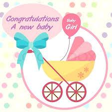 Newborn Congratulation Card New Born Baby Card Baby Girl Birth Congratulations Card Biggroupco Co