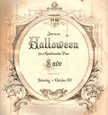 Blank Halloween Invitation Templates Free Halloween Invitation Templates Ziaranch Org