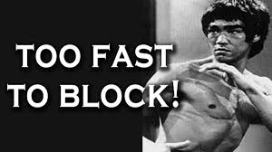 Bruce Lee Literally Punched Too Fast To Block (Unstoppable Punch ...