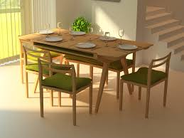 mid century modern kitchen table. Mid Century Modern Dining Room Table And Chairs Green Classic Tables Kitchen