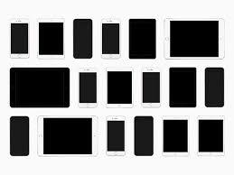 Ipad Template Png Ios Device Templates Iphone Se Ipad Pro Freebie
