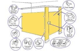 bathroom partition hardware. Fine Hardware Bathroom Partitions Hardware Partition Locks Pin Toilet  Brackets  Magnificent Design Decoration Inside O