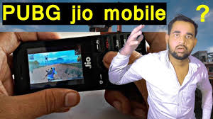 pubg mobile game in jio phone me ...