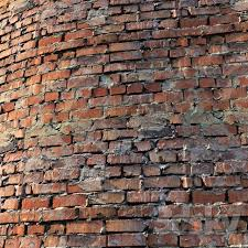 material of old brick wall