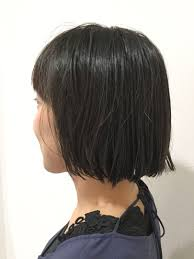 Ryuuichi Takahashiさんのヘアスタイル 切りっぱなしボブボブ 黒