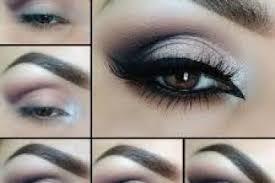 tutorial all black smokey eyes pin image share i am using dark blue and light shade