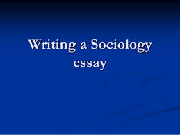 sociology essays topics formatting personal statement writing  sociology
