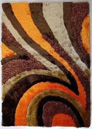 orange area rugs plush brown with orange area rug 2 x 3 ft area rugs