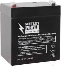 Security Power SP 12-4.5 (12V/4.5Ah) <b>Батарея</b> для ИБП купить в ...