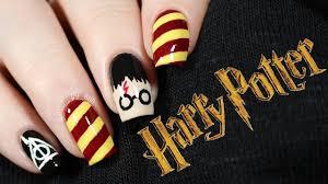 Harry Potter Nail Designs Harry Potter Nails Nailsbyerin