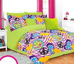 zebra print duvet cover full zebra quilt cover set girls twin bedding set lime green pink