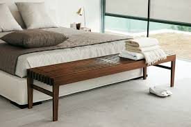 bottom of bed bench. Brilliant Bottom Contemporary Bedroom Benches Modern End Of Bed  Wood Storage Bench On Bottom E