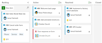 Story Card Template Is Filled During Which Phase In Agile Understand And Configure Your Kanban Board Azure Boards