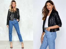 bad motor faux leather jacket by nasty gal