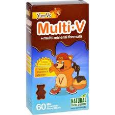 YumVs <b>Multi V with multi-mineral</b> formula - 17 essential Vitamins ...