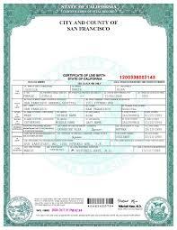 Certificates Amazing Fake Birth Certificate Template