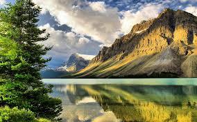 CLOUDS LAKE SUNNY MOUNTAIN LAKE ...
