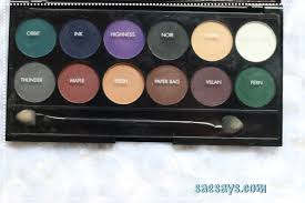 batch 0232 swatches i divine eyeshadow palette original sleek makeup