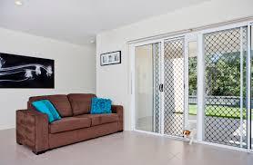 patio pet door insert colour cream size small