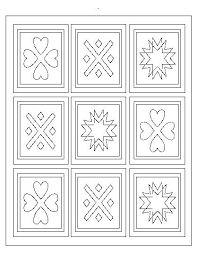 Small Picture Christmas Quilt Coloring Pages Coloring Pages