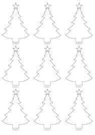 Christmas Tree Stencil Printable Tree Stencil Free Bighashdel