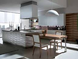 Modern Kitchen Ideas 2013 Shapes Of Dining Peninsula Supports Textured Wall Panels Intended Simple Design