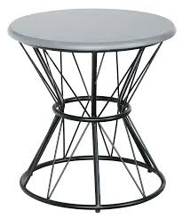 wire end table top furniture round coffee table wire coffee table metal side table steel wire