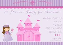 Childs Birthday Party Invitation Purple By Celebrationspaperie