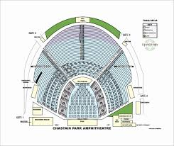 Alpine Valley Detailed Seating Chart With Seat Numbers Marcus Amphitheater Seat View Marcus Amphitheater Seating