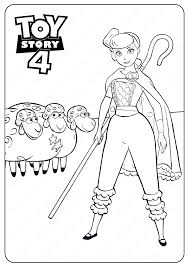 80 toy story pictures to print and color. Toy Story 4 Bo Peep Pdf Coloring Pages Toy Story Coloring Pages Disney Coloring Pages Toy Story Printables